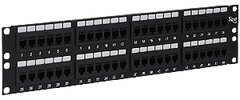 ICC Cabling Products: ICMPP48CP5 48 Port Cat5e FEEDTHRU Patch Panel