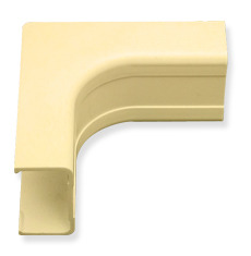 "ICC Cabling Products: ICRW33NCIV 1 1/4"" Ivory Inside Corner Cover"