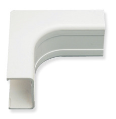"ICC Cabling Products: ICRW11ICWH 3/4"" White Inside Corner Cover 10 Pack"