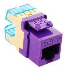 ICC Cabling Products: IC1078F5PR HD Cat5e Keystone Jack