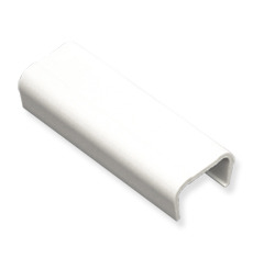 "ICC Cabling Products: ICRW12JCWH 1 1/4"" White Joint Cover 10 Pack"