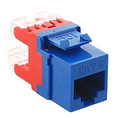 ICC Cabling Products: IC1078F6BL HD Cat 6 Keystone Jack