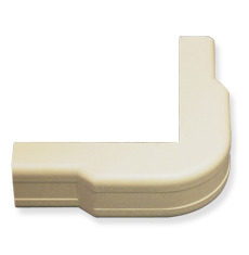 "ICC Cabling Products: ICRW12OCIV 1 1/4"" Ivory Outside Corner Cover 10 Pack"