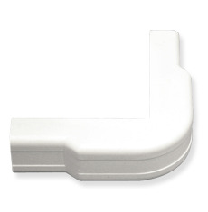 "ICC Cabling Products: ICRW33CCWH 1 1/4"" White Outside Corner Cover"