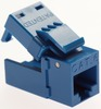 Platinum Tools 706BL-4C Blue Cat6 Keystone EZ-SnapJack 4 Pack