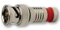 Platinum Tools: 28041J RG59 Compression BNC Connector 40 Pack