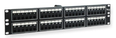 ICC Cabling Products: ICMPP048T2 48 Port 6P2C Rack Mount Telco Patch Panel