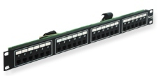 ICC Cabling Products: ICMPP024T4 24 Port 6P4C Rack Mount Telco Patch Panel