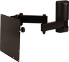 VMP LCD-2537B Mid-Size Configurable Flat Panel Articulating Wall Mount Black