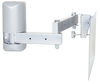 VMP LCD-2537 Mid-Size Configurable Flat Panel Articulating Wall Mount Silver