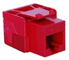 ICC IC1078L6RD EZ Cat 6 Modular Keystone Jack Red