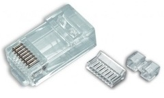 Platinum Tools: 106178J 8P8C Cat6 Modular RJ45 Connectors 100 Jar