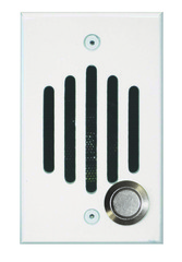 Channel Vision: IU-0212C White Single Gang Door Unit