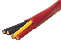 ICC Cabling Products: 22-4 Solid FPLR Fire Alarm Wire 500ft