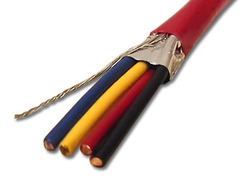 ICC Cabling Products: 18-4 Solid FPLP Shielded Plenum Fire Alarm Wire 1000ft