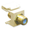 ICC IC107B9GAL Almond Gold Plated 3 GHz F Connector Keystone Jack