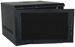 Quest Manufacturing: WM1019-07-02 7 RMS Black Wall Mount Cabinet Enclosure