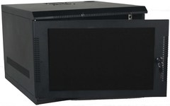 Quest Manufacturing: WM1019-11-02 11 RMS Black Wall Mount Cabinet Enclosure