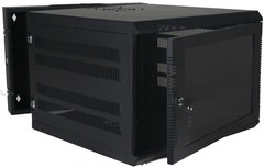 Quest Manufacturing: WM3019-09-02 9 RMS Black Swing-Out Wall Mount Enclosure