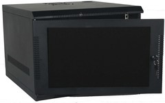 Quest Manufacturing: WM1019-09-02 9 RMS Black Wall Mount Cabinet Enclosure