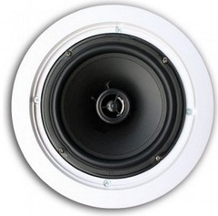 "Channel Vision: IC608 6.5"" In-Ceiling Speaker Pair"
