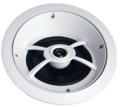<p>Channel Vision: IC626 6.5&rdquo; Angled Professional In-Ceiling Speaker</p>