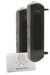 Dakota Alert: BBA-2500 Solar Powered Wireless Infrared Beam System