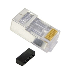 ICC Cabling Products: ICMP8P8C6S Cat 6 Solid/Stranded Shielded RJ45 Plugs