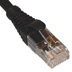 ICC Cabling Products: ICPCSG10BK Black Cat6A FTP 10ft Patch Cable