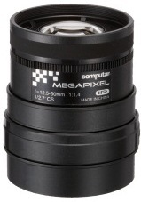 "Computar: A4Z1214CS-MPIR 1/2.7"" 12.5-50mm Manual Iris 3 Megapixel Lens"
