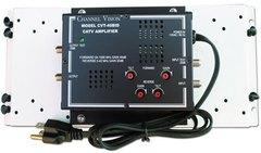 Channel Vision: C-0340 CATV Amplifier with Bracket for Wiring Enclosures