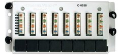 Channel Vision: C-0538 CAT6 Data Patch Panel Module
