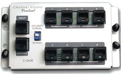 Channel Vision: C-0436 4×8 RJ45 Telecom Distribution Module