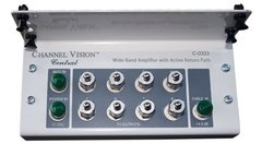 Channel Vision: C-0333 8 Output Bi-Directional Amplified Splitter
