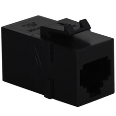 ICC Cabling Products: IC107C6SBK RJ-11 Keystone Modular Coupler