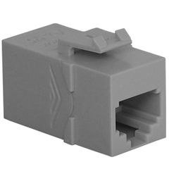 ICC Cabling Products: IC107C6SGY RJ-11 Keystone Modular Coupler