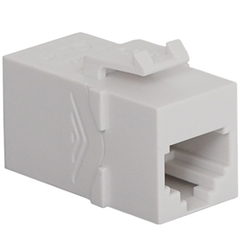 ICC Cabling Products: IC107C6SWH RJ-11 Keystone Modular Coupler