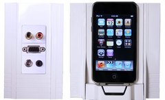 Channel Vision: A0316 iBus Full Featured On-Wall Dock For iPod