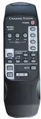 Channel Vision: A0505 Audio & Video System Remote Control