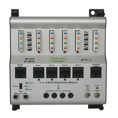 Channel Vision: P-1014 1 x 4 A-BUS Distribution Module