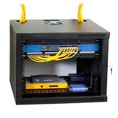 Kendall Howard: 1915-3-100-08 8U Security Wall Mount Rack