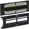 ICC ICMPP12F6E Cat 6 Front Access 12 Port Patch Panel