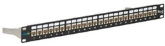 ICC: ICMPP246AS Cat6A 10Gig FTP Shielded 24 Port Patch Panel