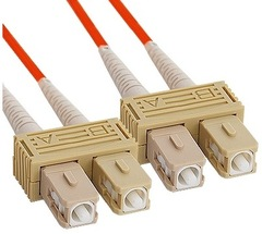 ICC: 2 Meter SC-SC Duplex Multimode Fiber Patch Cable