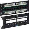 ICC ICMPP12F5E Cat5e 12 Port Front Access Patch Panel