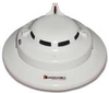 Hochiki SLR-835BH-2W White Photoelectric Heat Smoke Detector With Ring