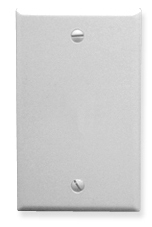 ICC Cabling Products: Blank White 1 Gang Wall Plate