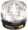 SECO-LARM SL-1301-SAQ/C Clear LED Strobe Light with Built-In Siren