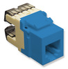 ICC IC1076F0BL High Density Voice RJ11 Keystone Jack Blue