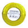 22/2 Solid Alarm Wire Yellow | 500ft Coil Pack | UL Listed & CMR Rated